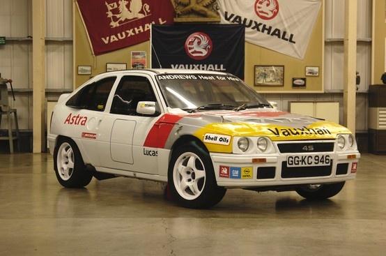 1986: Vauxhall Astra 4-S