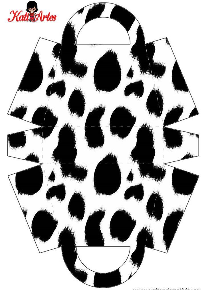 Pieles de Animales: Bolsos para Imprimir Gratis.
