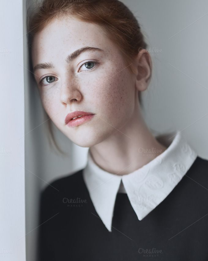cool Portrait of a beautiful girl by Aleshyn Andrei on Creative Market
