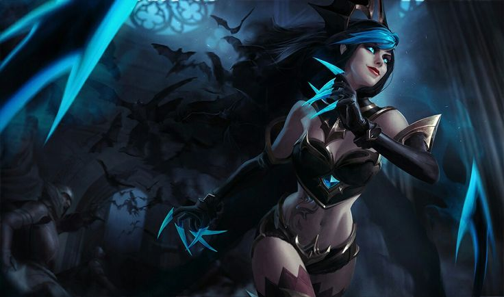 Shadow Evelynn - League of Legends league of legends champions