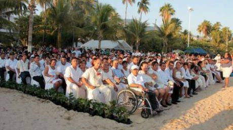 Mexic: Aproape 200 de cupluri și-au unit destinele într-o căsătorie comună de Ziua Iubirii