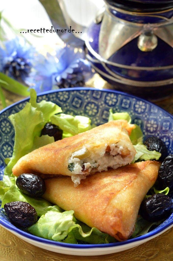 Briouate - Briwate à la Ricotta - recette ramadan