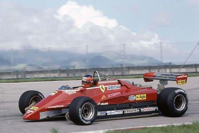 1982 Ferrari 126 C2 (Gilles Villeneuve)