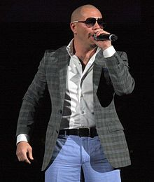 Armando Christian Pérez (born January 15, 1981), better known by his stage name Pitbull, is an American rapper, pop singer-songwriter and record producer. His first recorded performance was from the Lil Jon album Kings of Crunk in 2002, after which he released his debut album in 2004 titled M.I.A.M.I. (short for Money Is a Major Issue) under TVT Records