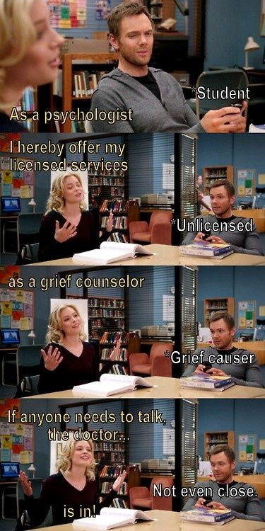 "hahaha ""as a psychologist...(student)"""