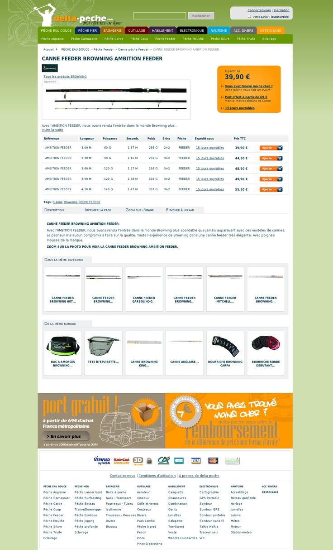 delta p che vente materiel et article de peche en mer et peche eau douce delta. Black Bedroom Furniture Sets. Home Design Ideas