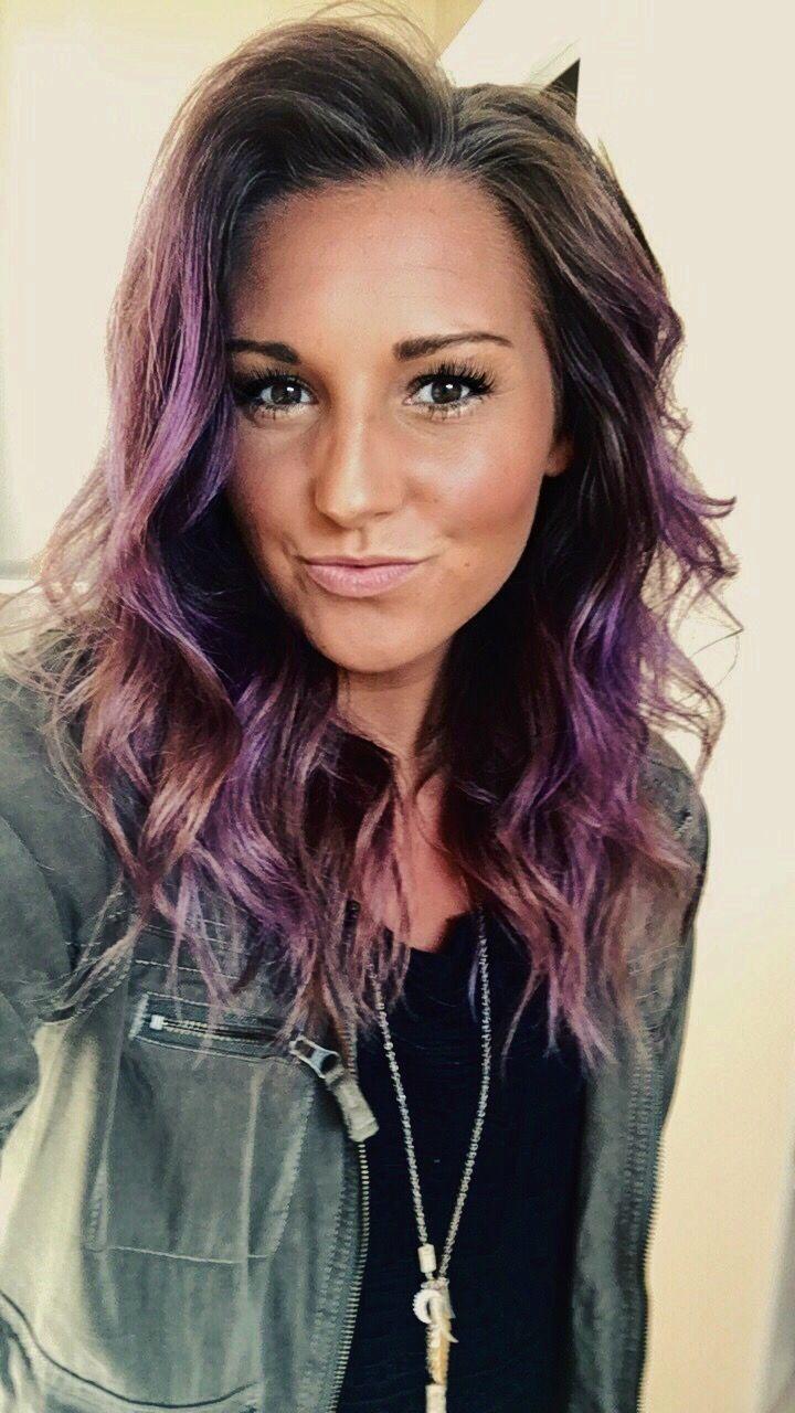 Purple ombre #purplehair #purpleombre #purple #hair