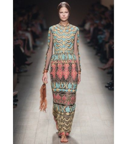 #valentino - embroidered tulle gown