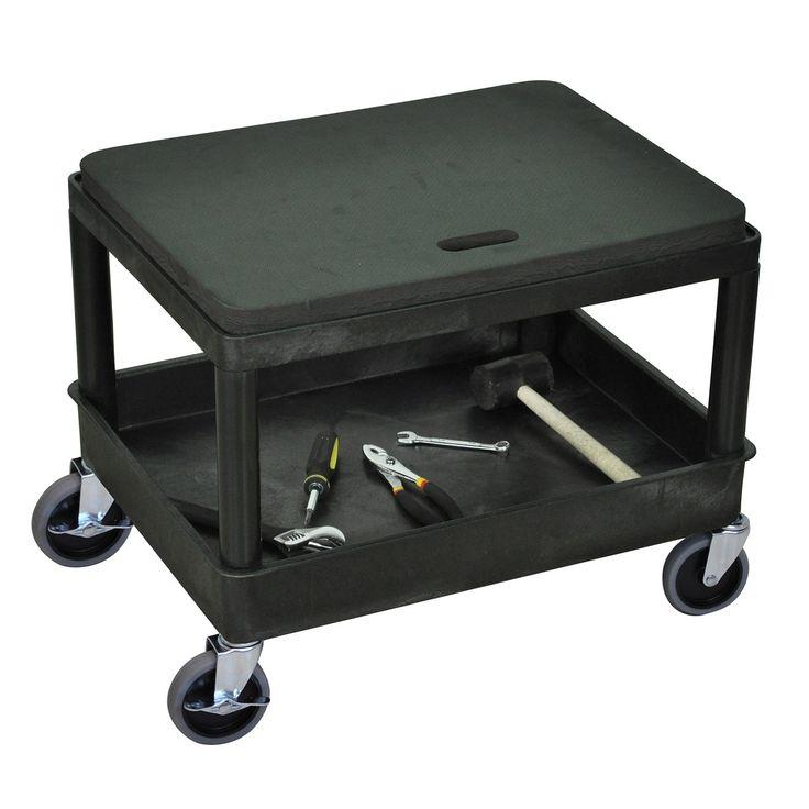 Luxor MS21-B Mobile Mechanics Seat