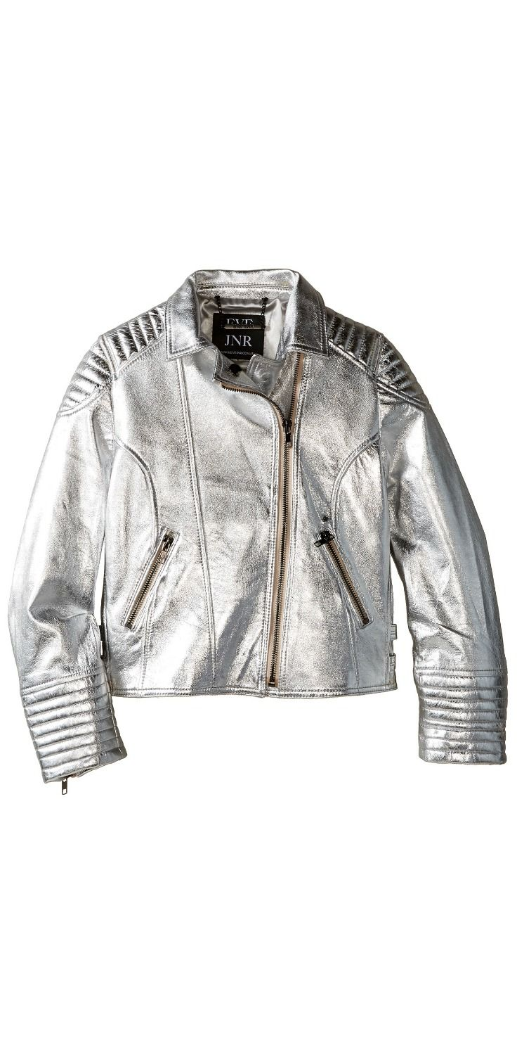 Who needs the silver screen?  Your boy will feel like a leading man in this cool #evejnr #Luxe #Leather #Jacket.  #boys #kids #child #children #childrenswear #coat #outerwear #apparel #clothing