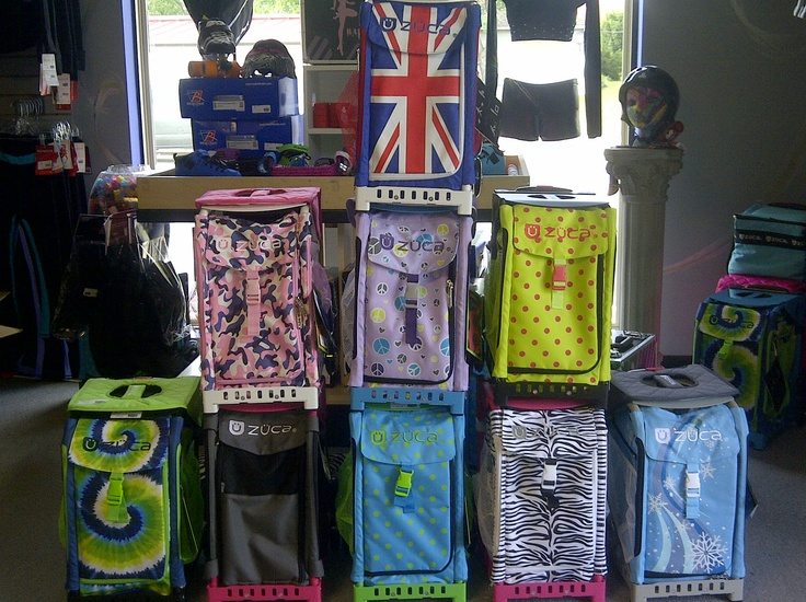 We just restocked our line of Zuca bags! Check out the awesome new styles!
