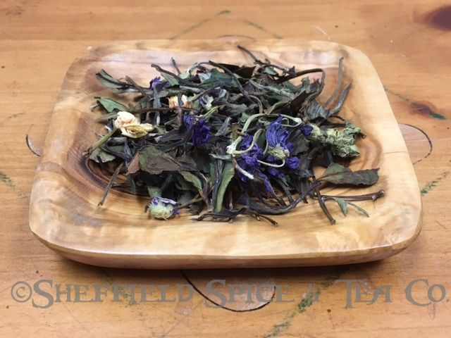 Cream Earl White Tea.  If you like Cream Earl Grey, try it with a white tea.  The touch of jasmine adds an exotic touch.