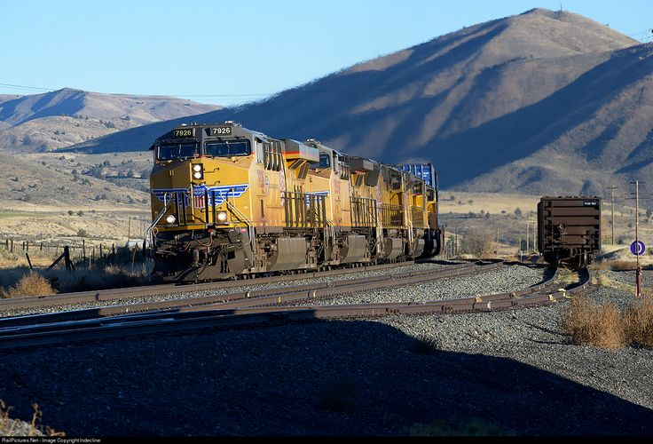 Photo up 7926 union pacific ge es44ac at