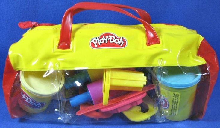 Play-doh Lot 4 Cans of Doh & Accessories Cutters Molds Tools Scissors #PlayDoh