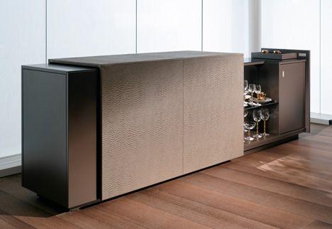 Modern Bar Design: Butler Room Divider by Simon Peter Hodlmoser » Yanko Design