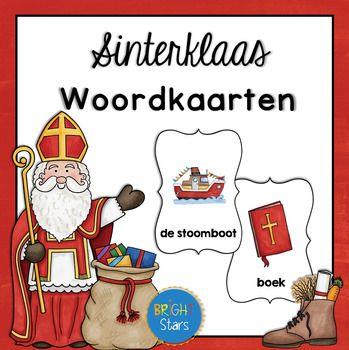 16 leuke Sinterklaas woordkaarten (met en zonder lidwoord): perfect voor peuters en kleuters.Woorden: (het) paard, (de) stoomboot, (het) boek, (de) schoen, (de) sint, (de) staf, (de) pepernoten, (het) pak, (de) muts, (de) zak, (de) piet, (de) mijter, (de) schoorsteen, (de) maan, (de) wortel, (het) speelgoed.==============================================================================================Hartelijk bedankt voor het downloaden Als je vragen of opmerkingen hebt, kan je altijd…
