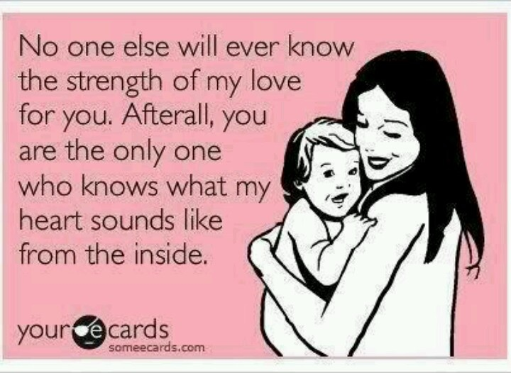 Truest statement, my favorite quote about motherhood <3