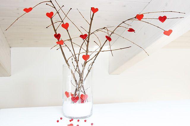 Oltre 25 fantastiche idee su idee per san valentino su pinterest idee san valentino - Rami secchi decorativi ...