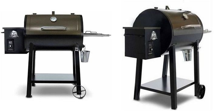 Pellet Grill Smoker Wood Outdoor Patio BBQ Cooking Portable Steel Digital LCD