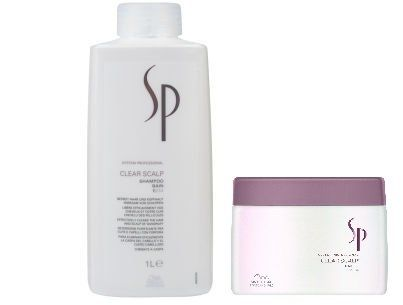 Wella SP Clear Scalp SHAMPOO 1000ml and MASK 400ml + FREE DELIVERY - http://best-anti-aging-products.co.uk/product/wella-sp-clear-scalp-shampoo-1000ml-and-mask-400ml-free-delivery/
