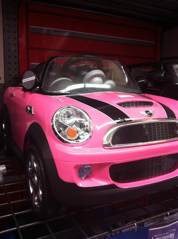 Hot Pink! Love It!!!: Pink Cars, Pink Sweet, Minis Cooper, Kids Minis, Pink Kids, Mighty Minis