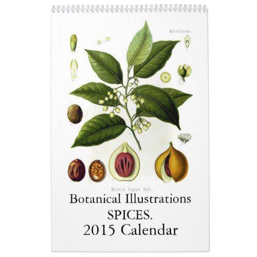 Spices 2015 calendar