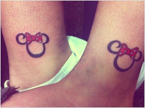 Matching Minnie tattoos with my sister :) @Marinda de Jongh Marshall Fowler