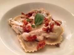 Ravioli met champignons en pancetta | Pasta maken |Taste Our Joy!