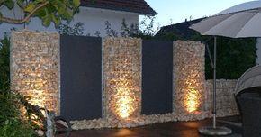 Außendekoration: 25 erstaunliche Steinzäune, alles blendend! – Garten Design
