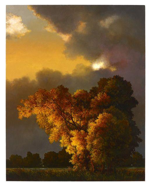 Autor: Libby Johnson. Imagen creada mediante adición con óleo sobre panel.