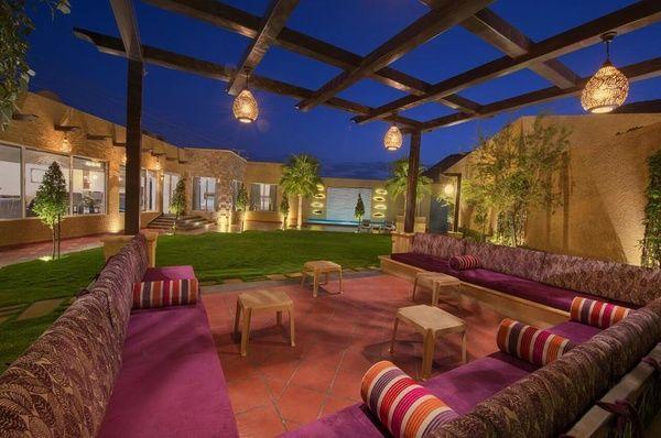 منتجع ماربيا الإستراحات الرياض Marbella Resort Patio Patio Umbrella