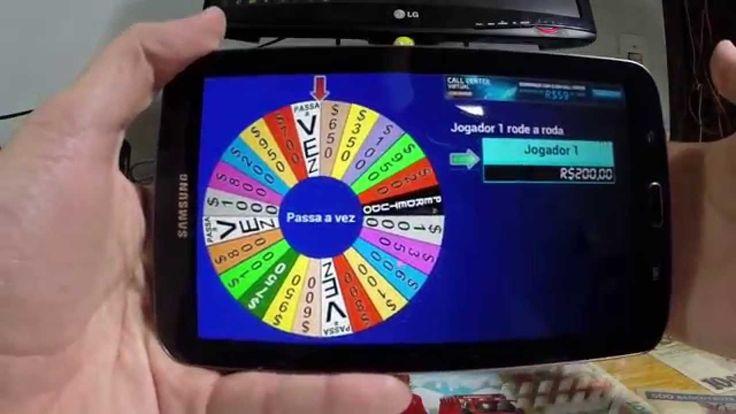 Jogo Roda a Roda do Silvio Santos para Android, Iphone e Tablets