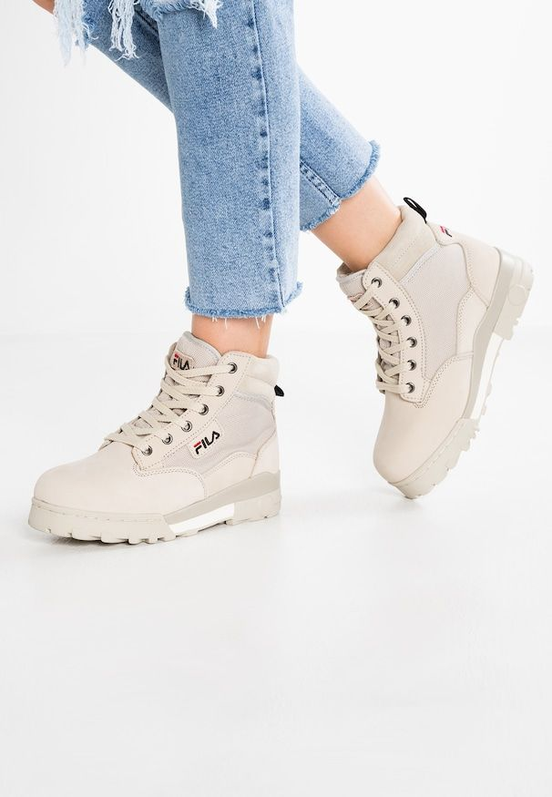 GRUNGE MID - Ankle boots - feather grey | Grunge in 2019 ...
