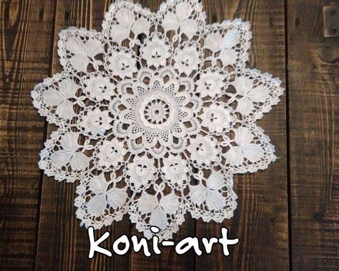 Koronka Koniakowska Koni-art HAND MADE  Koronka Koniakowska zawiera w sobie  urok, niepowtarzalności. Wykonywana ręcznie tylko i wyłącznie w Koniakowie, składająca się z geometrycznych motywów roślinnych, których układ zależy od wyobraźni artystycznej wykonującej ją koronczarki. Zobacz... Zadzwoń... Zamów... http://www.koniakov.com http://www.koniakowskiekoronki.com