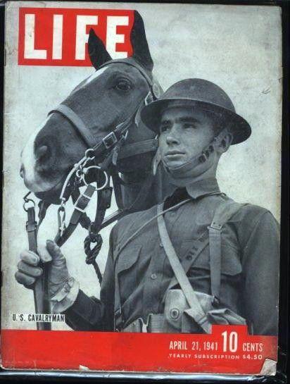 April 21, 1945...US Cavalryman