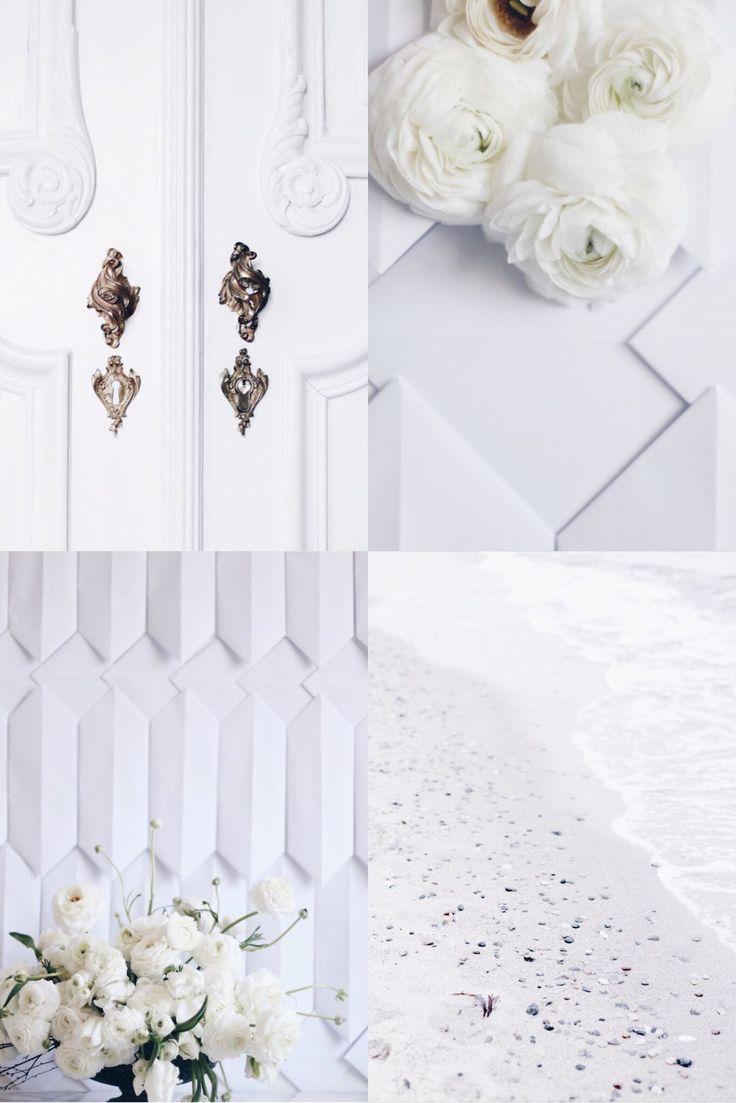 DIY Romantic Classy Flower Arrangement In White