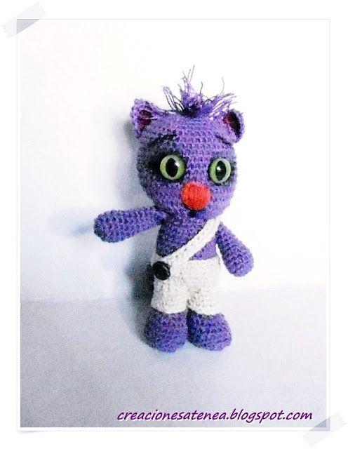Mejores 84 imágenes de GATOS-CATS AMIGURUMIS en Pinterest ...