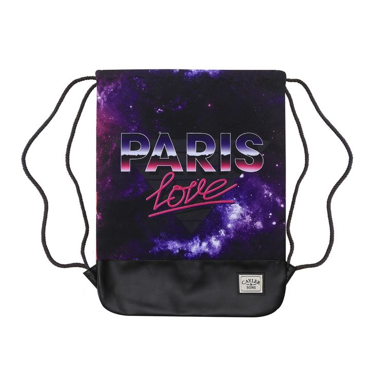 PARIS LOVE GYMBAG