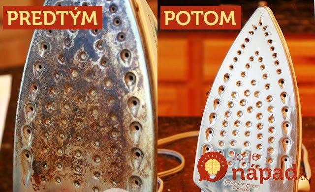 Ako vyčistiť pripálený povrch žehličky a popasovať sa s vodným kameňom? Prinášame vám overené tipy a triky.