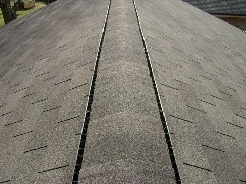 How To Roofing Capping And Installing Ridgevent Roof