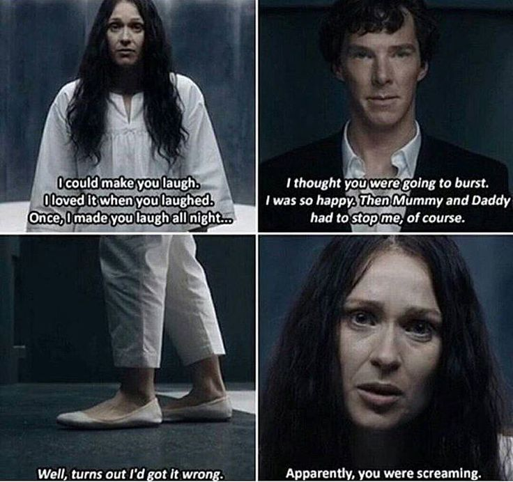 "This was so sad. Sherlock Season 4 Episode 3, ""The Final Problem."""