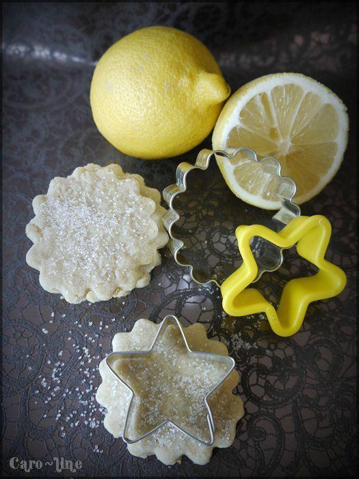 Bredele au citron - Bredele