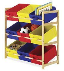 Идеальное совмещение устойчивые деревянные стойки и легкие текстильные ящики. С такими органайзерами-игрушек дом будет в порядке.