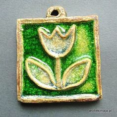Image result for clay plaque with melted glass