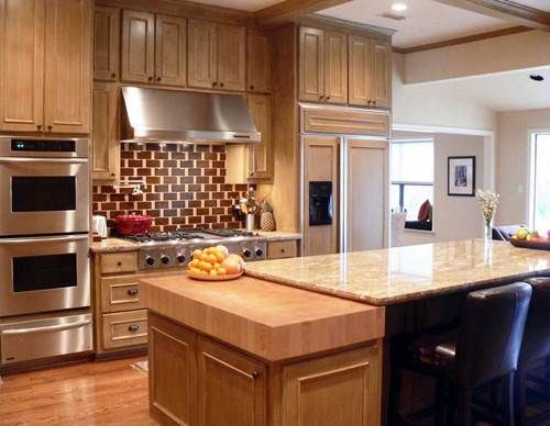 How To Add On Countertop Butcher Block Granite Pros And Cons Kitchens You Sould Know Kitchen