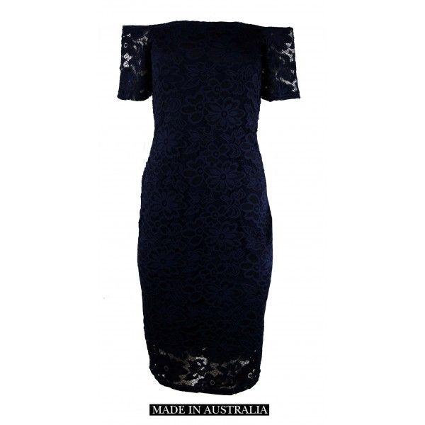 Fyodor Slimming Lace Dress