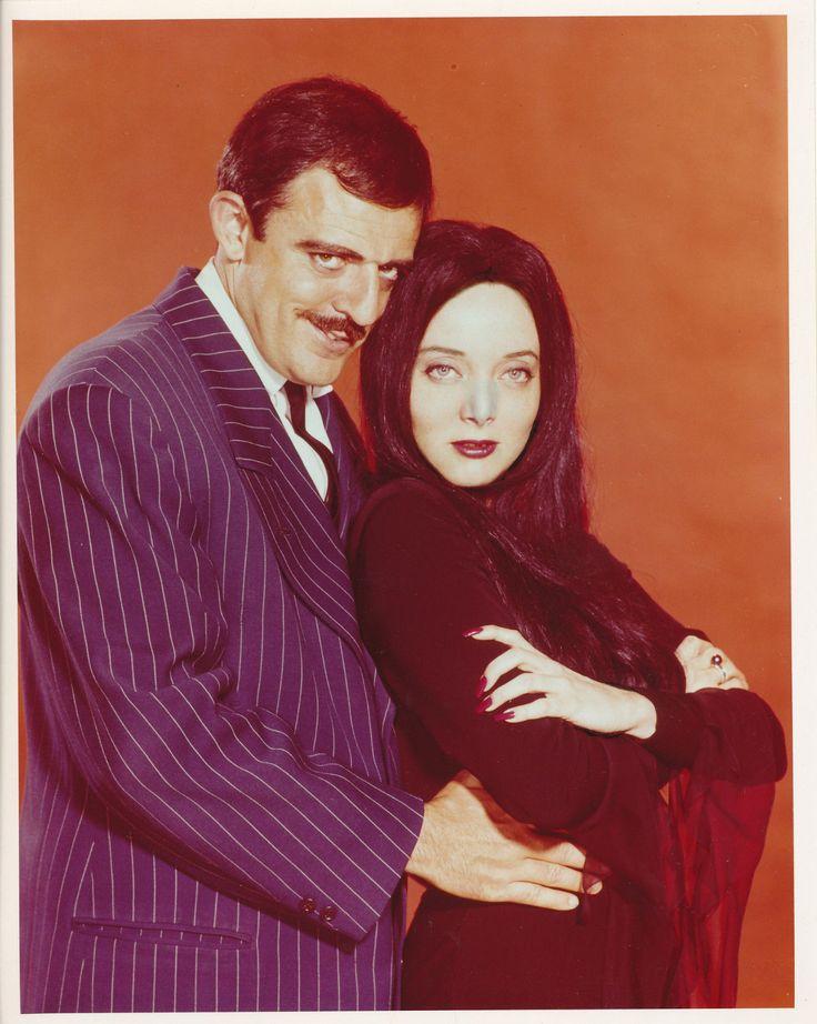 John Astin Carolyn Jones Addams Family 8x10 Copy Photo TV11525 | eBay