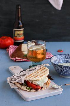 Gyros griego para cenar
