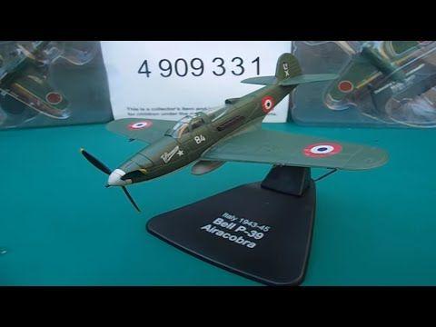 Italy 1943-45 bell p-39 Airacobra Italian ww2 plane atlas editions - YouTube