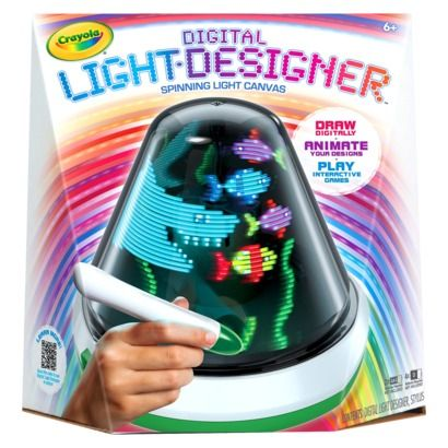 Crayola Digital Light Designer. This might be a cool idea for my girl.